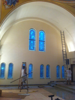 Painting of Greek Orthodox Church