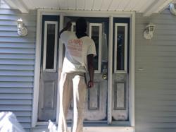 Prep of Front Door
