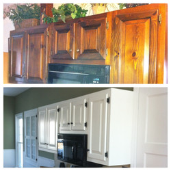 Before & After Cabinets
