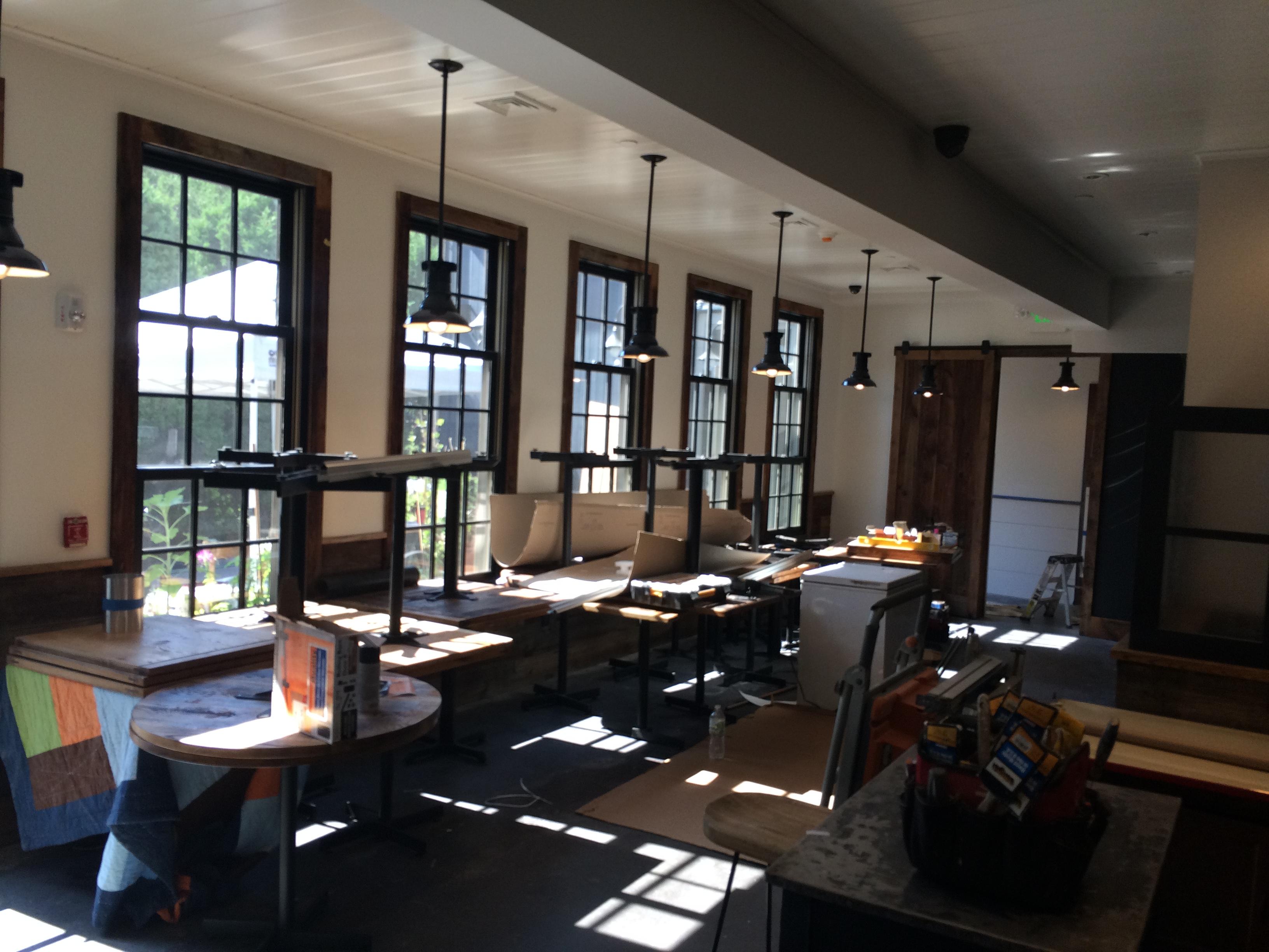 Interior Painting Restaurant