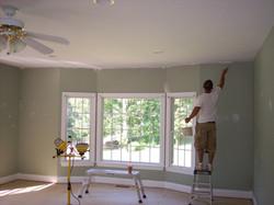Interior Painting Living Room Prep