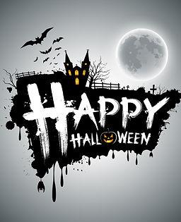 Happy Halloween message design vector.jpg