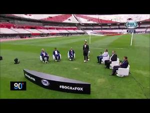 ENTREVISTA CON FOX SPORTS Final de la Copa Libertadores 2018