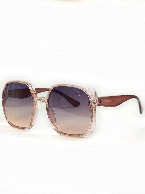 Óculos Retrô Rosé