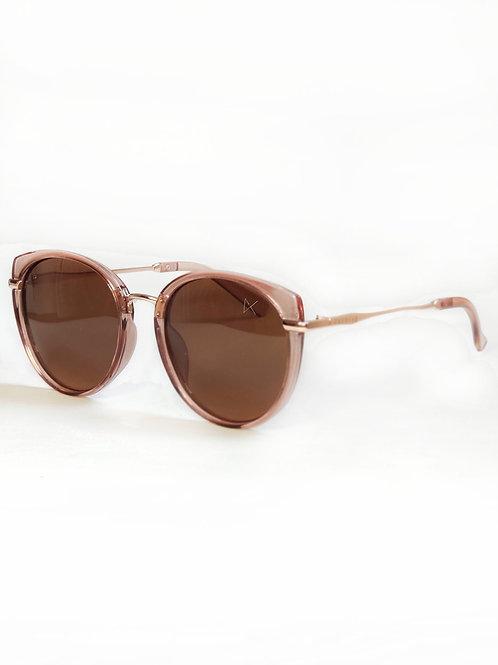 Óculos Gatinho Rosé