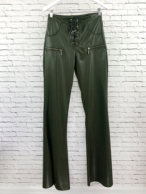 Calça Glossy Pantalona