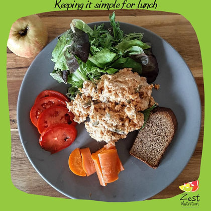 Keeping it Simple Lunch - Zest Nutrition
