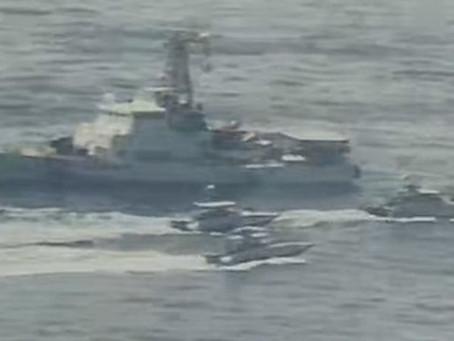 イラン 艦艇が米海軍の船に接近