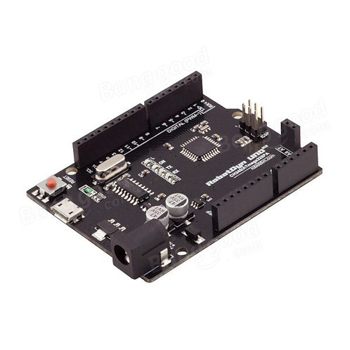 Arduino Uno Compatible R3, Micro USB, 8 Analog Inputs