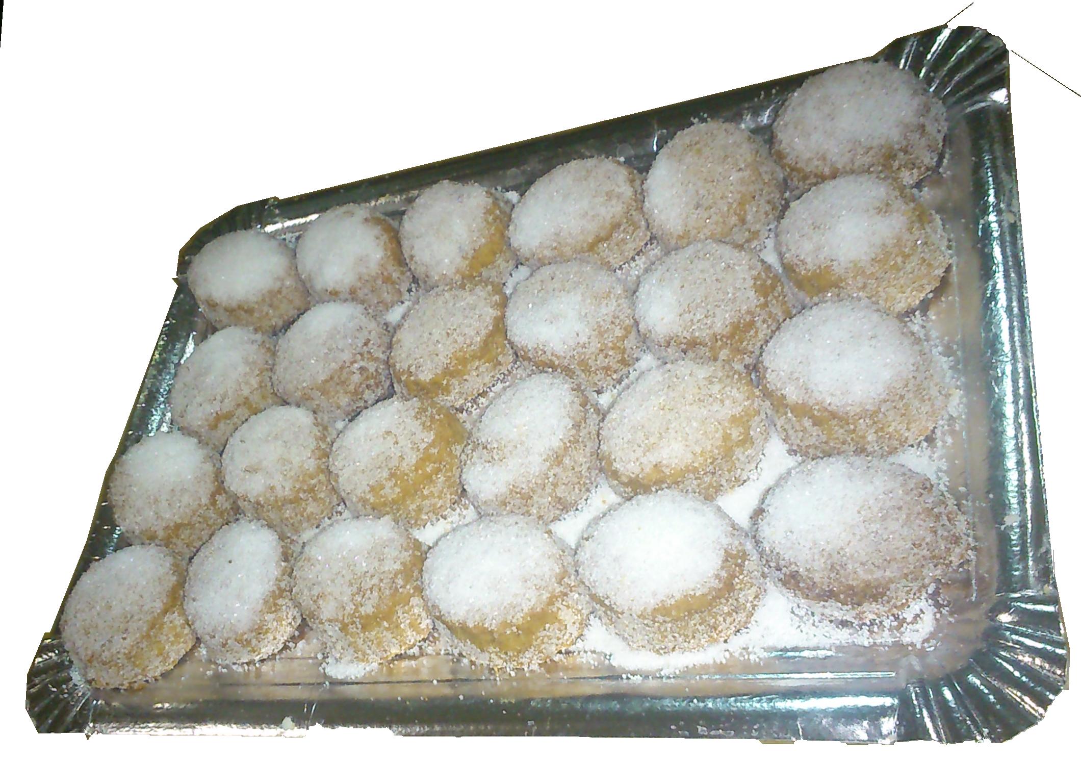 Bollos de azucar