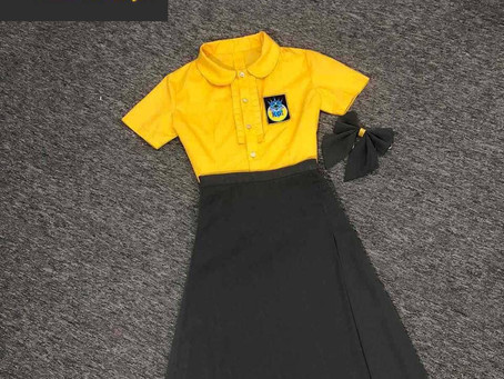 Dress smartly and take pride in your appearance.( Uniform Design 3)