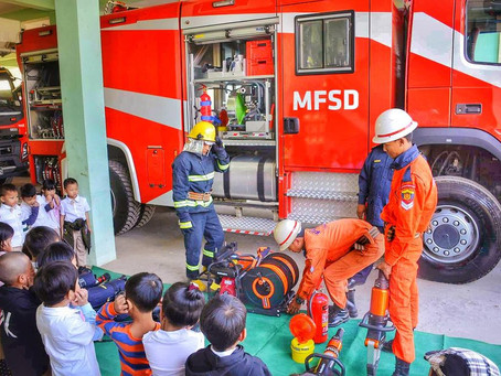 Fire safety with the Firefighters