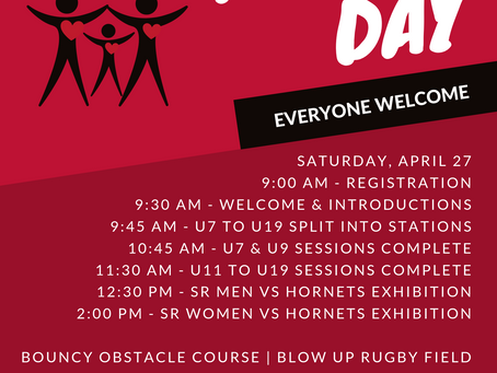 Family Day is one week away!