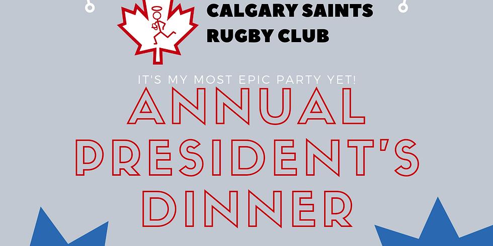 Annual President's Dinner (18+)