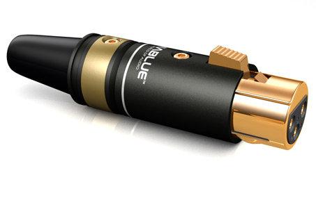 T6s XLR-plugg (stk) - hun