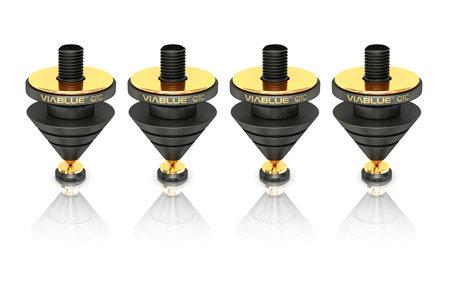 ViaBlue QTC spikes Black - 4 stk