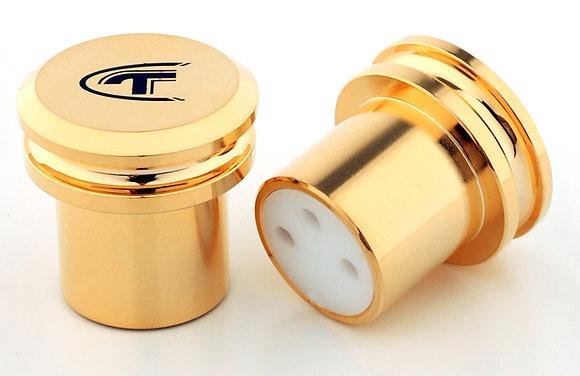 Telos Audio Design - Gold Cap XLR (2.stk)