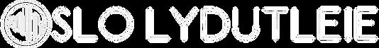 Oslo lydutleie logo
