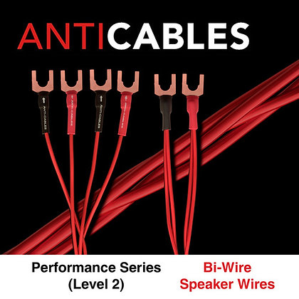 Level 2 Performance Series Bi-Wired Speaker Wires