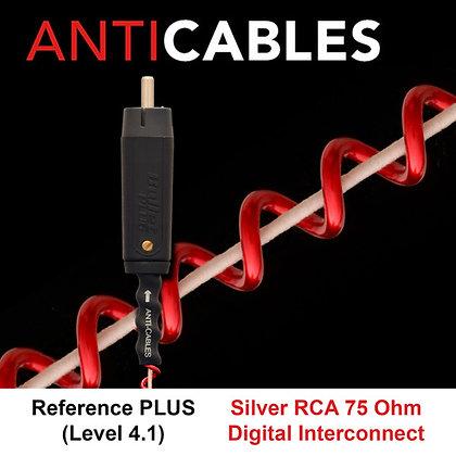 Level 4.2 Ref Pluss silver RCA 75 Ohm Digital