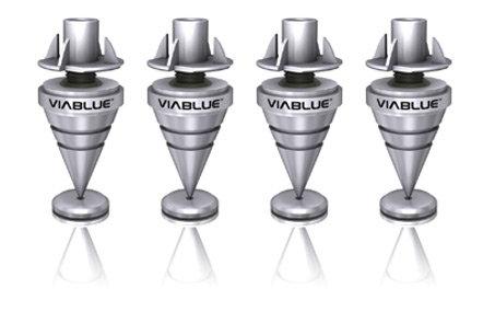 ViaBlue HS spikes Silver - 4 stk
