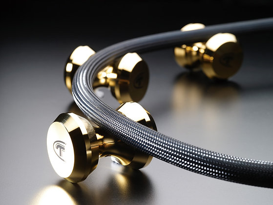 Telos Audio Design - Gold cable stand (1.stk)