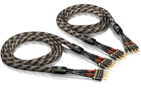 SC-4 Bi-Amp Silver series T6s Banan (Par)