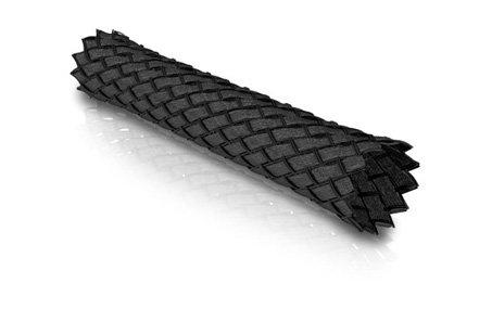 ViaBlue kabelstrømpe (Black) (Per M)