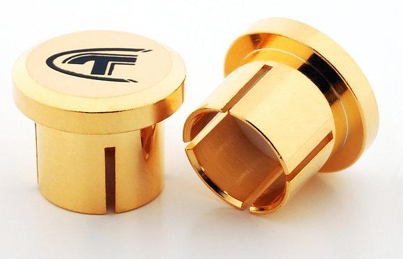Telos Audio Design - Gold Cap RCA (10.stk)