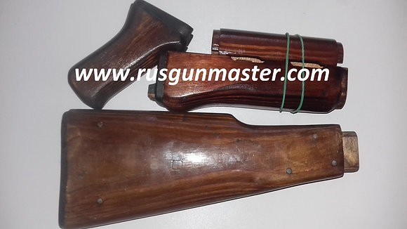 AK47 wood set