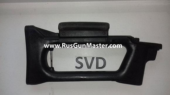 Original butt stock for SVD (Tiger) Black polimer