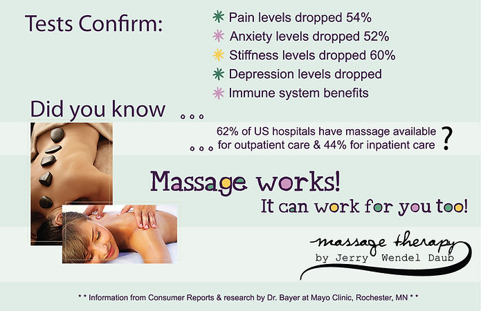 massage therapy benfits