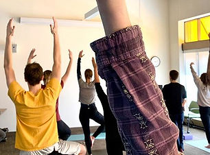 All of my FREE yoga classes will be held