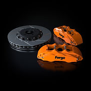 Raceline Forge 356 mm Big Brake Kit | Orange