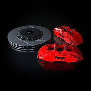 Raceline Forge 356 mm Big Brake Kit | Red