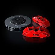 Raceline Forge 356 mm Big Brake Kit   Red