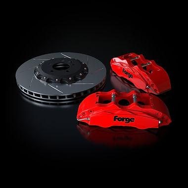 Raceline Forge 380 mm Big Brake Kit   Red