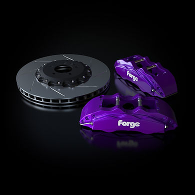 Raceline Forge 356 mm Big Brake Kit | Purple