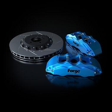 Raceline Forge 380 mm Big Brake Kit   Blue
