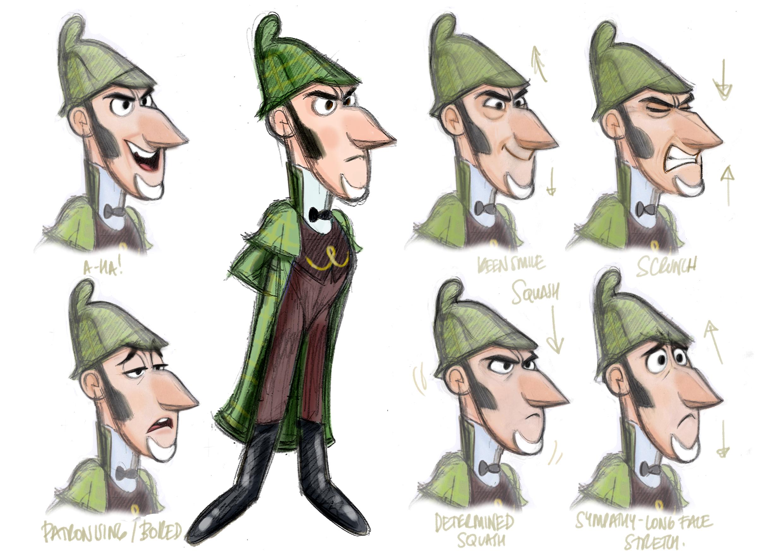 sherlock gnomes    character