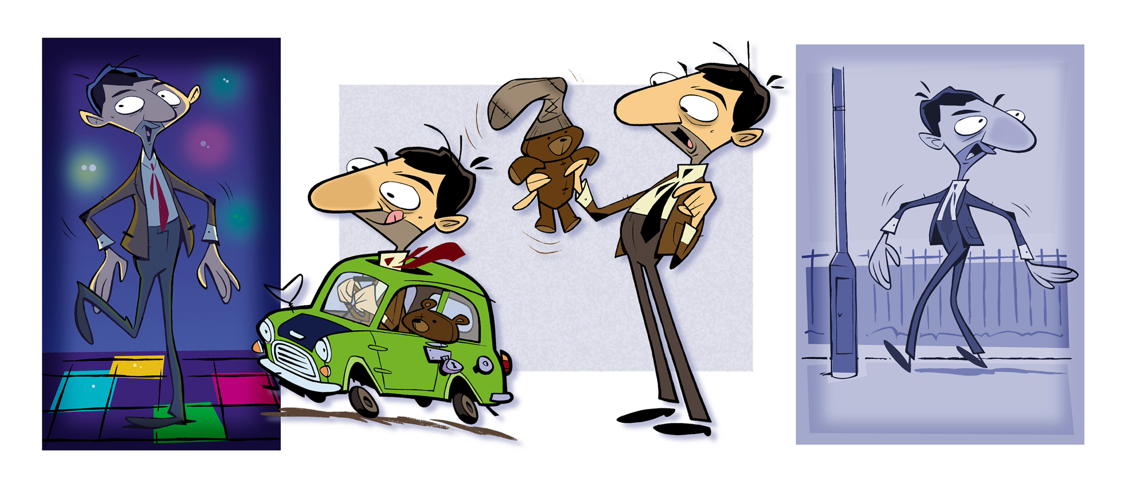 mr bean tv series pitch art