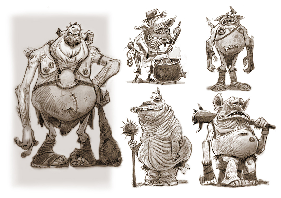 oodles of ogres..