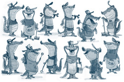 tv character concepts.