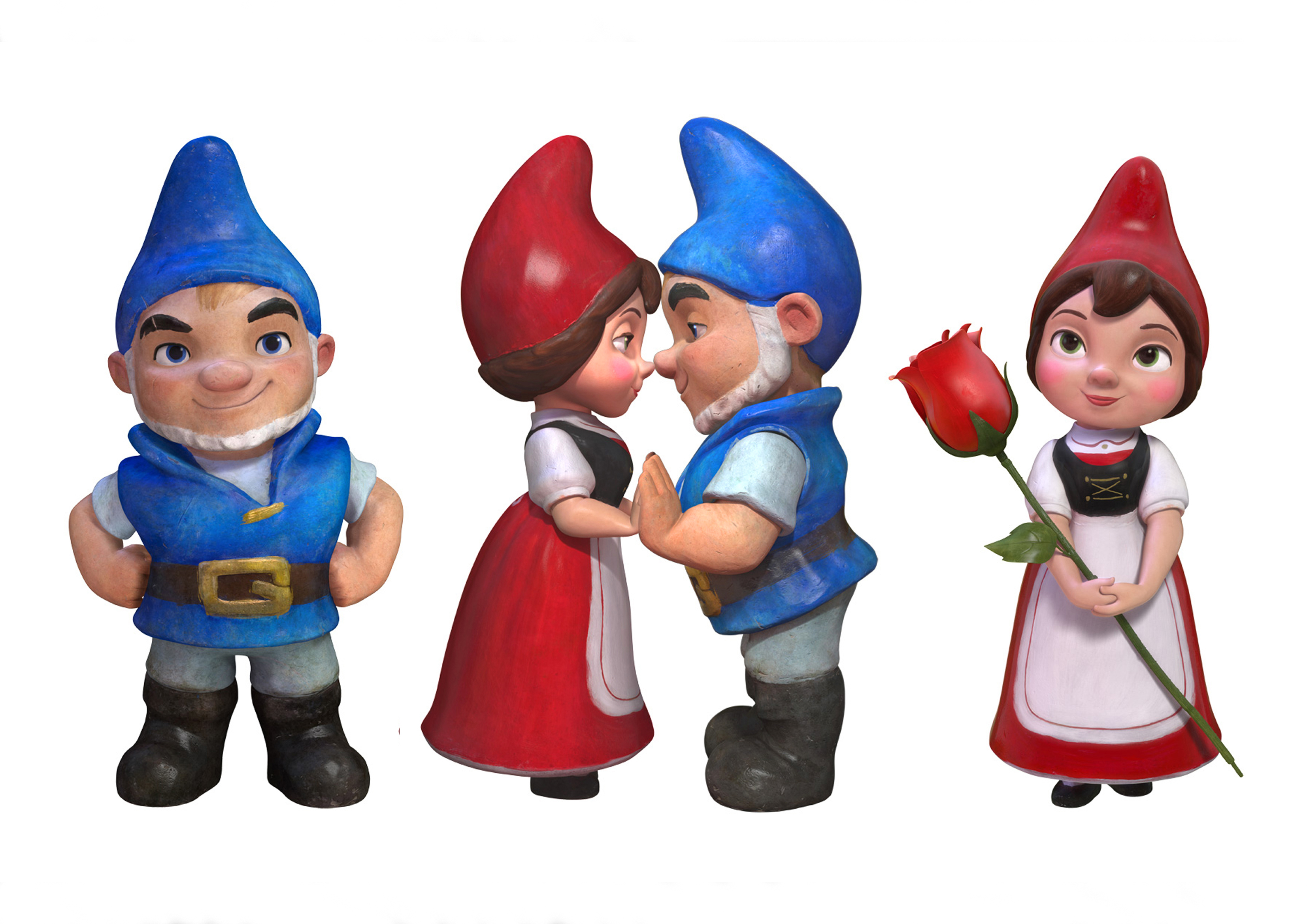 Character Design Gnomeo and Juliet