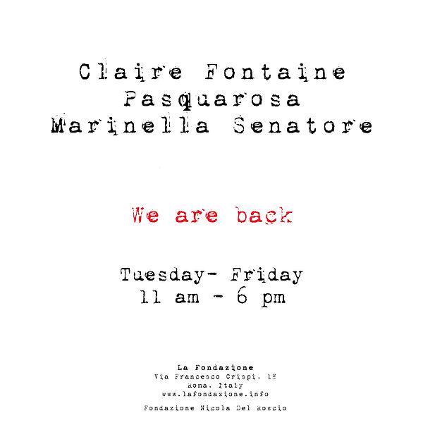 La Fondazione,WE ARE BACK.jpg
