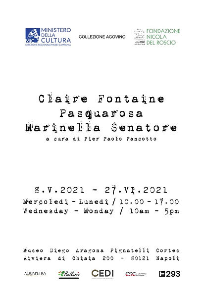 2Claire Fontaine | Pasquarosa | Marinell