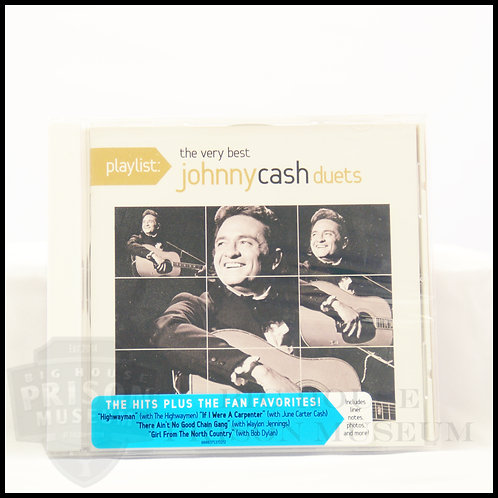 CD: The Very Best of Johnny Cash Duets