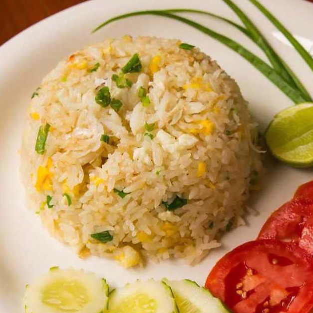 FRIED RICE WITH CRABMEAT