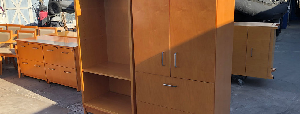 Steelcase Storage Cabinet and Bookcase