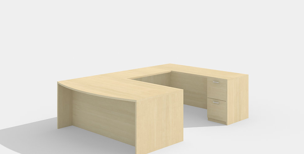 Cherryman Bowfront Desk (Maple)
